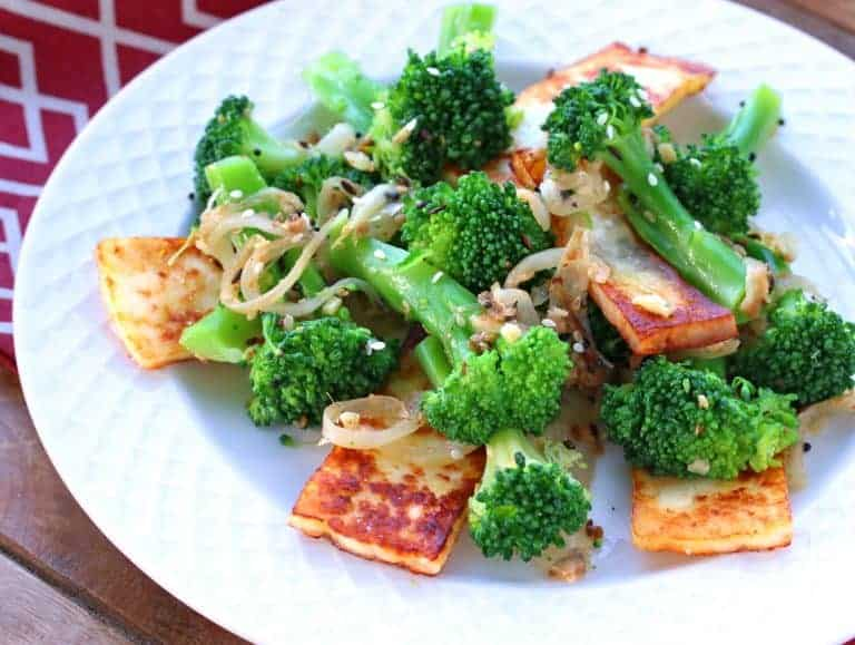 Indian Broccoli With Paneer The Daring Gourmet