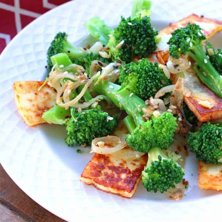 indian broccoli paneer side dish starter appetizer