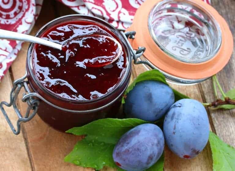 homemade plum jam recipe without pectin