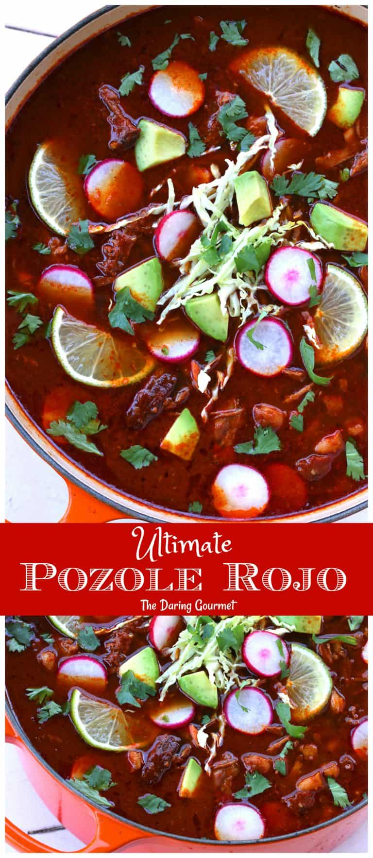 pozole rojo recipe mexican hominy stew authentic best