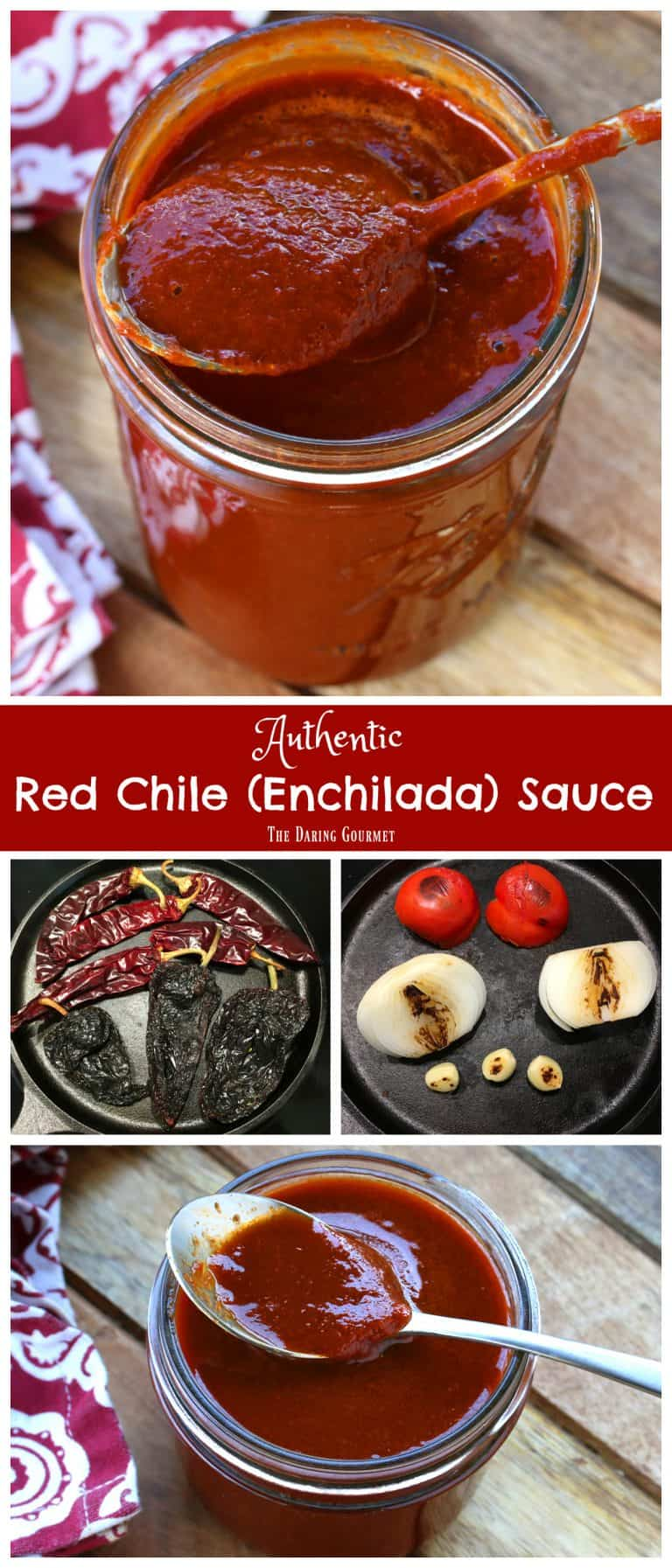Best Authentic Enchilada Sauce The Daring Gourmet
