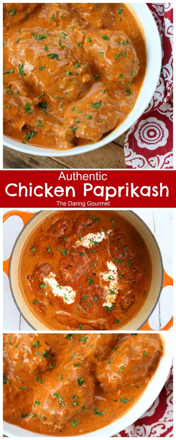 chicken paprikash recipe best authentic hungarian