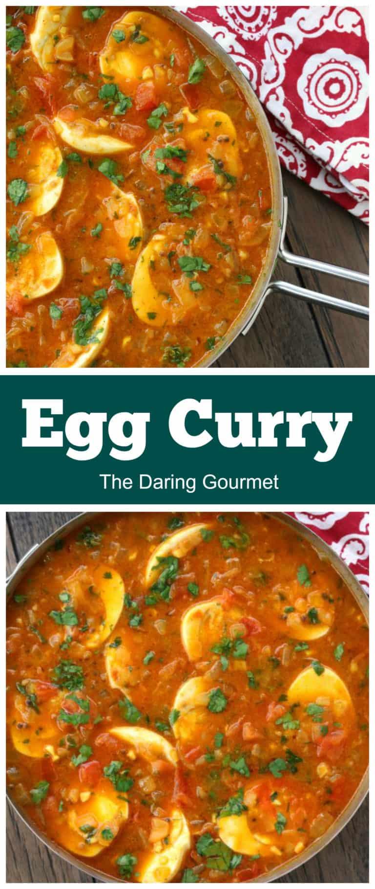 egg curry recipe best Indian vegetarian vegan gluten free baida