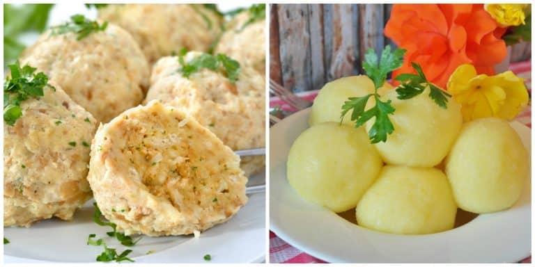 semmelknoedel kartoffelkloesse