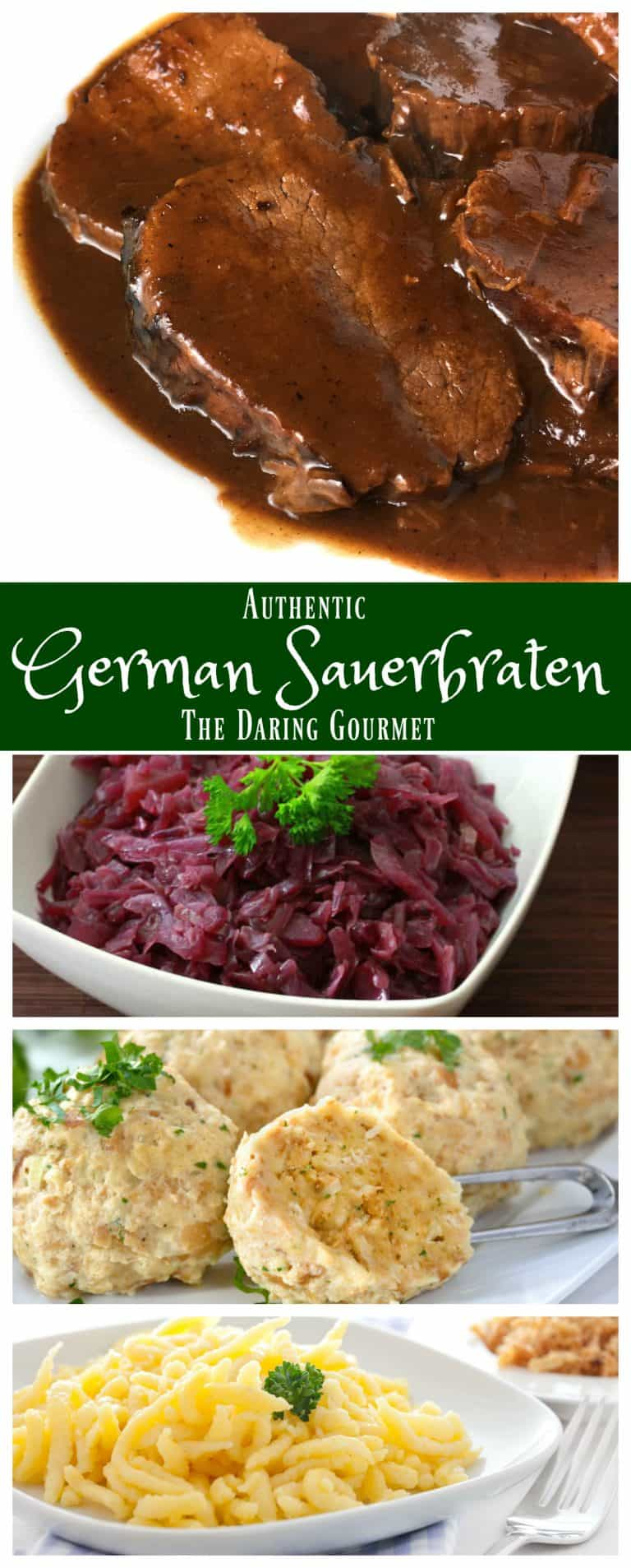 sauerbraten recipe German authentic traditional best