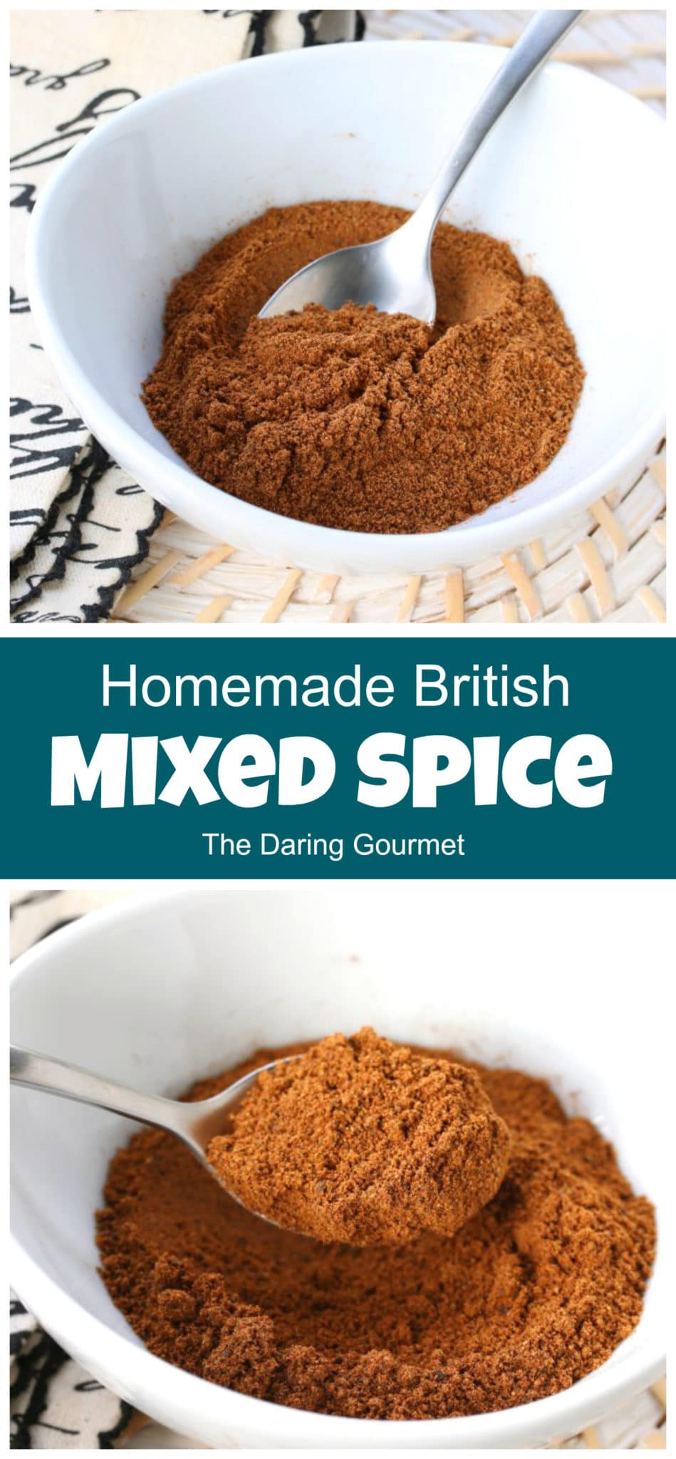 mixed spice recipe homemade british traditional authentic gingerbread spice blend