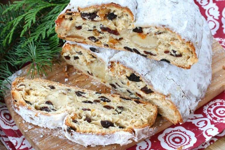 stollen recipe german authentic traditional best dresdner christstollen