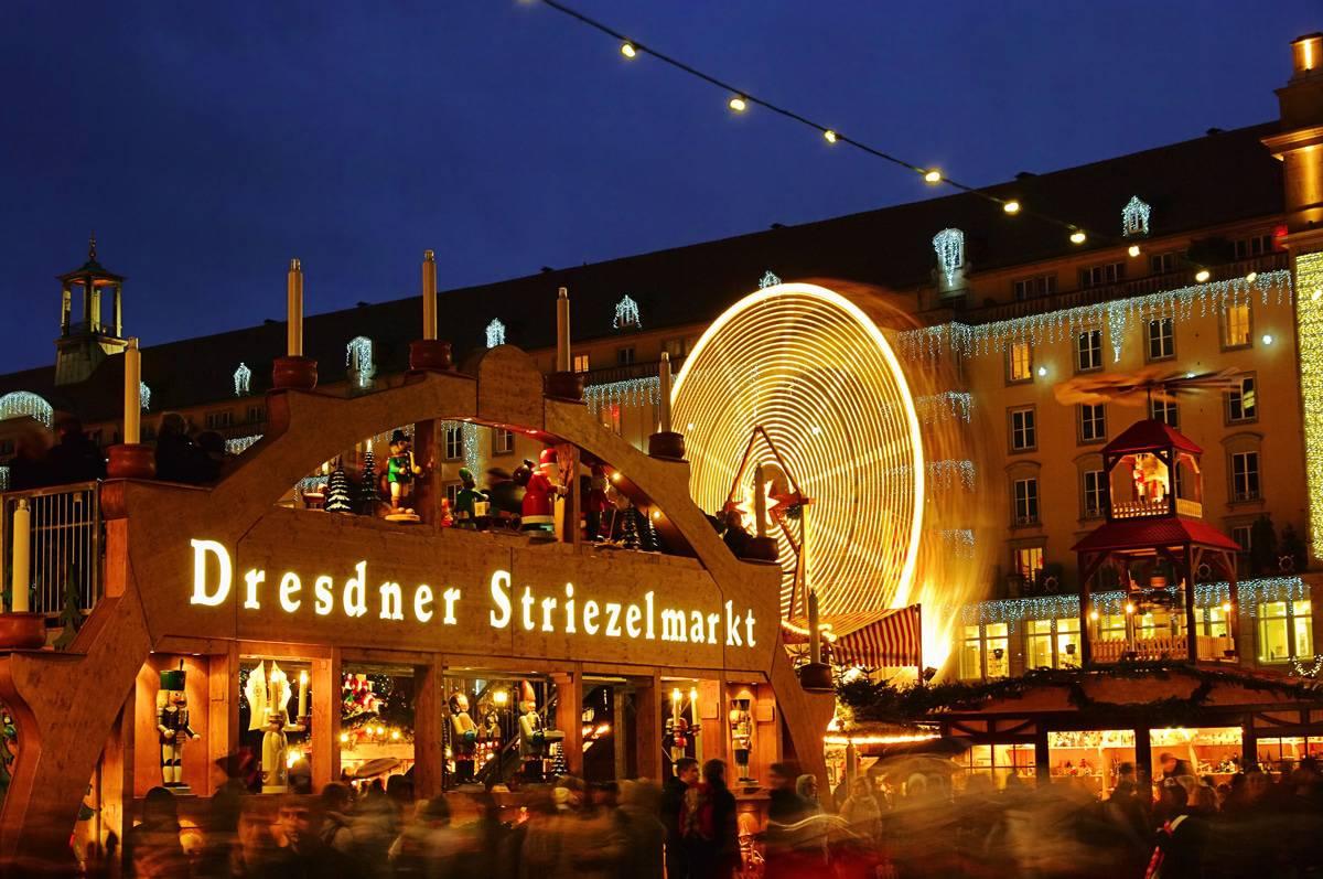 Dresdner Strietzelmarkt Germany
