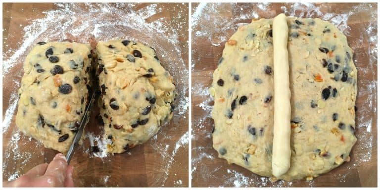 stollen recipe preparing dough