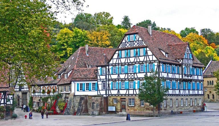 Maulbronn Germany, home of Maultaschen