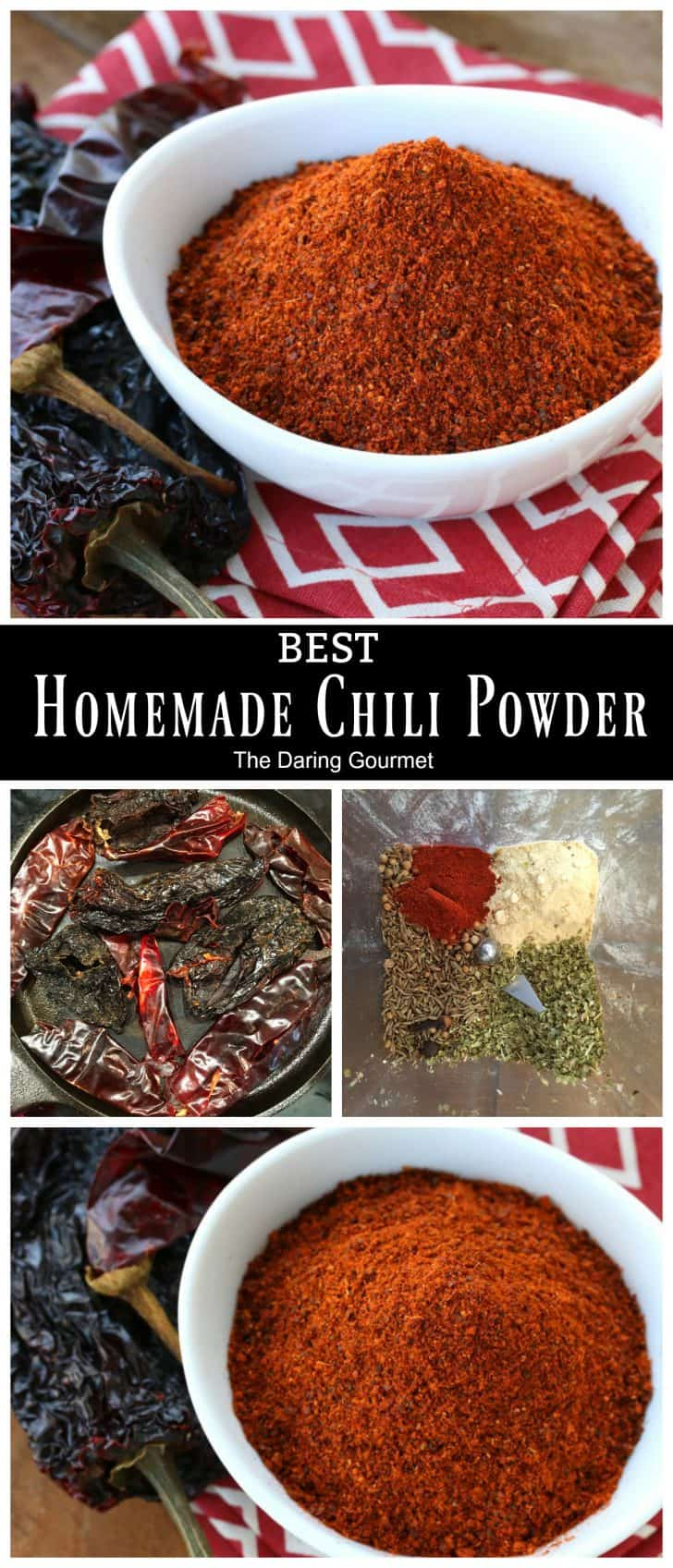 BEST Chili Powder (From Scratch) - The