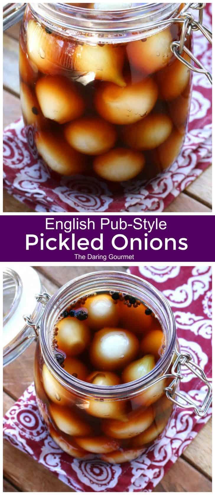 pickled onions recipe english pub style