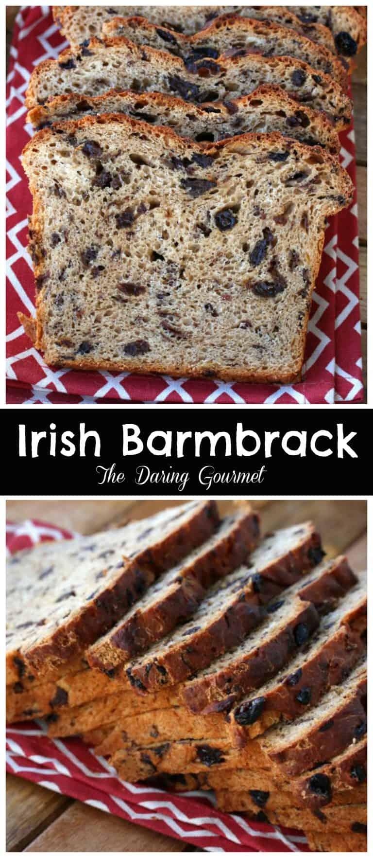 Irish Barmbrack (Báirín Breac) - The Daring Gourmet
