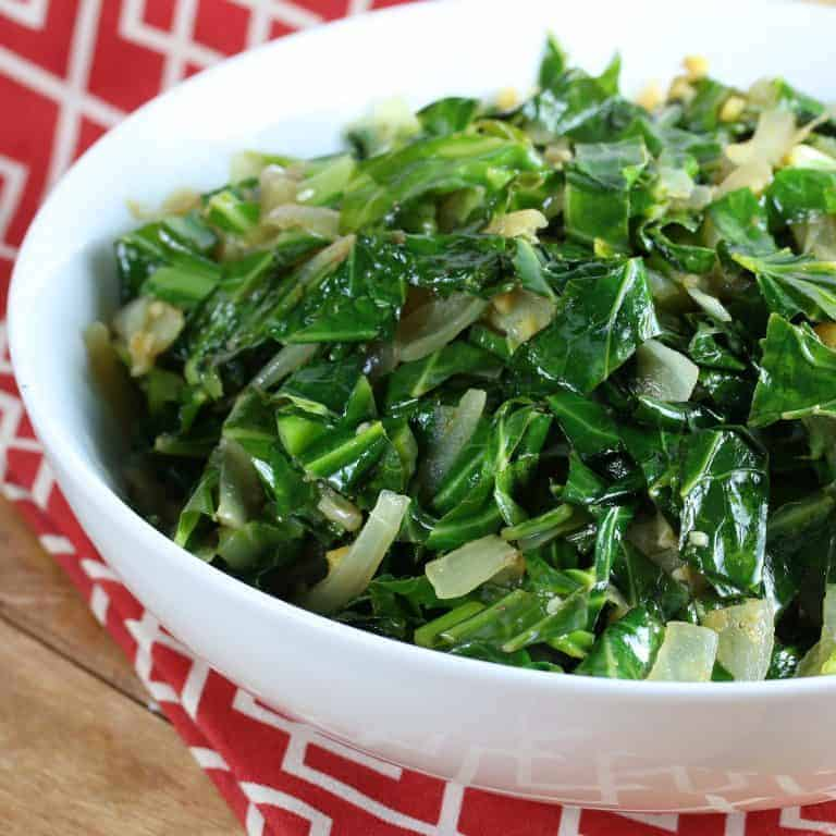 gomen ethiopian collard greens recipe authentic