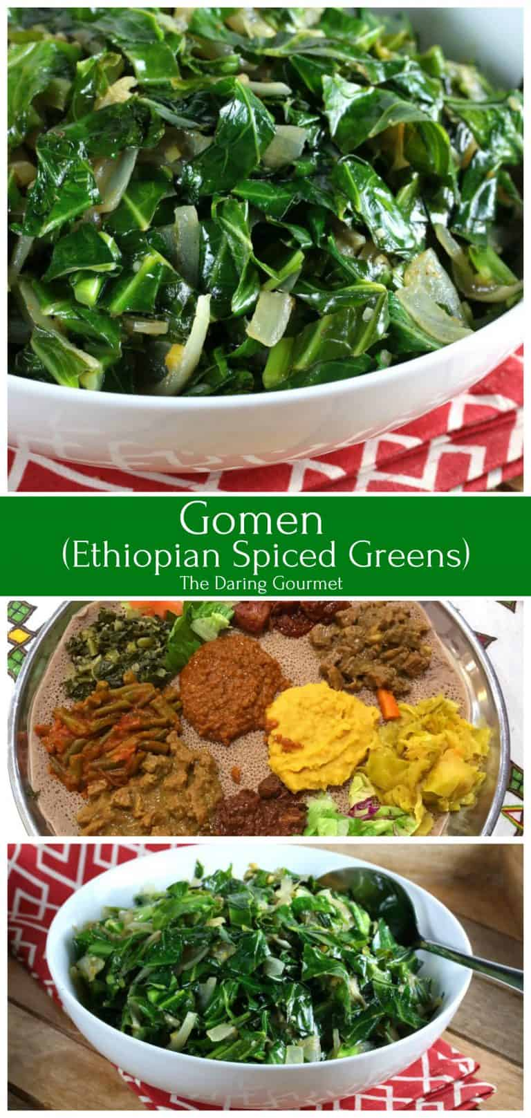 gomen recipe ethiopian collard greens