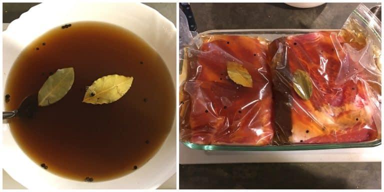 preparing pork belly wet brine