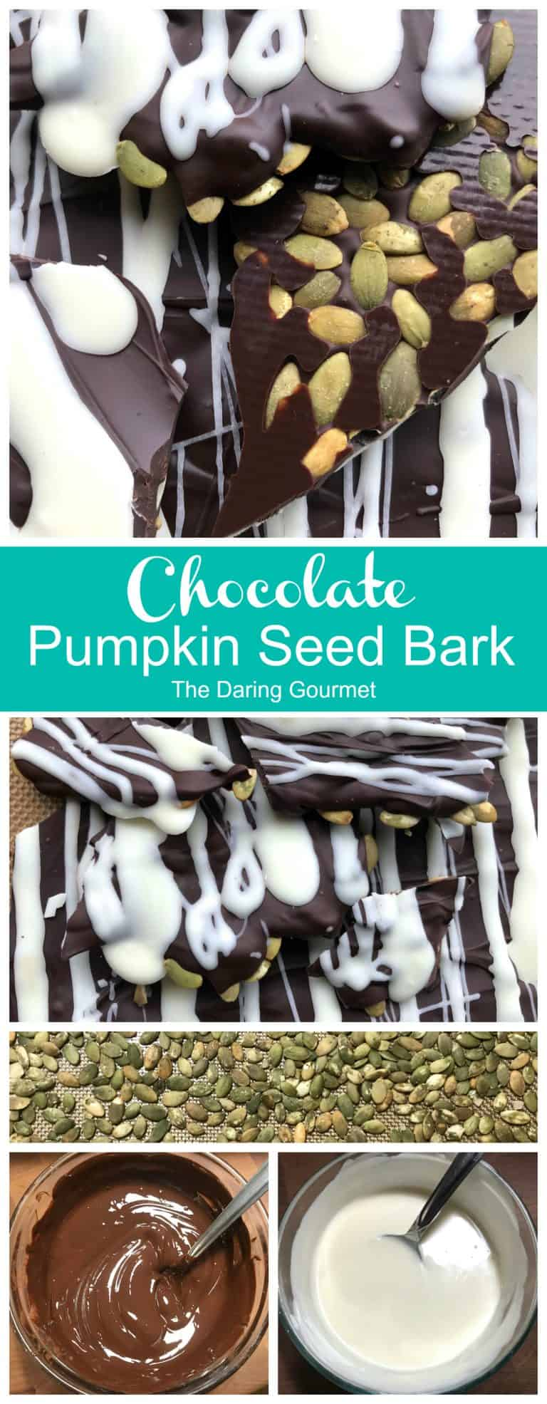 chocolate pumpkin seed bark recipe homemade