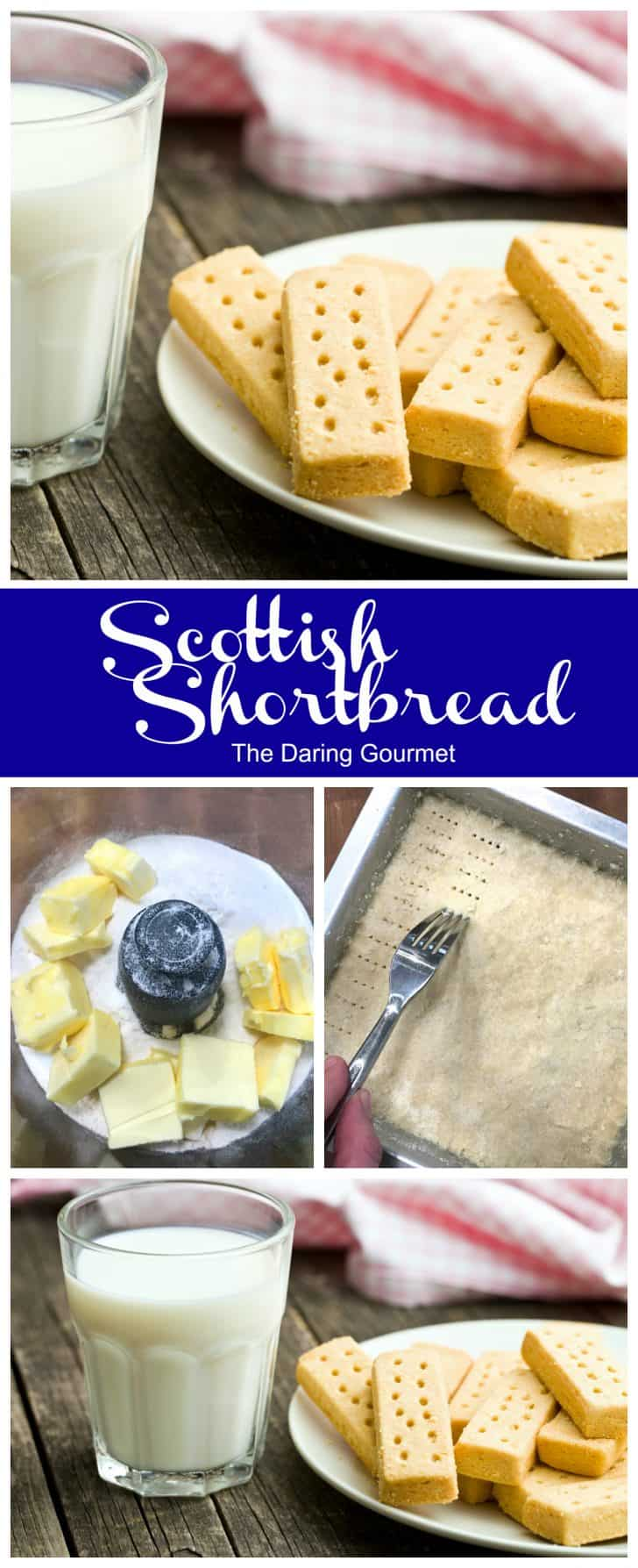 shortbread recipe scottish traditional authentic butter cookies