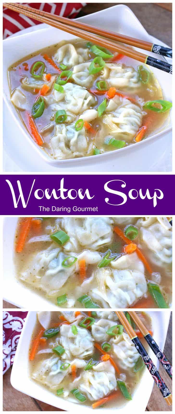 wonton soup recipe best homemade pork shrimp