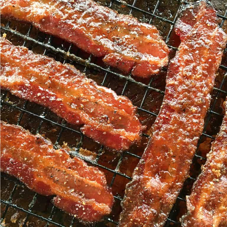 candied bacon recipe candy brown sugar maple syrup