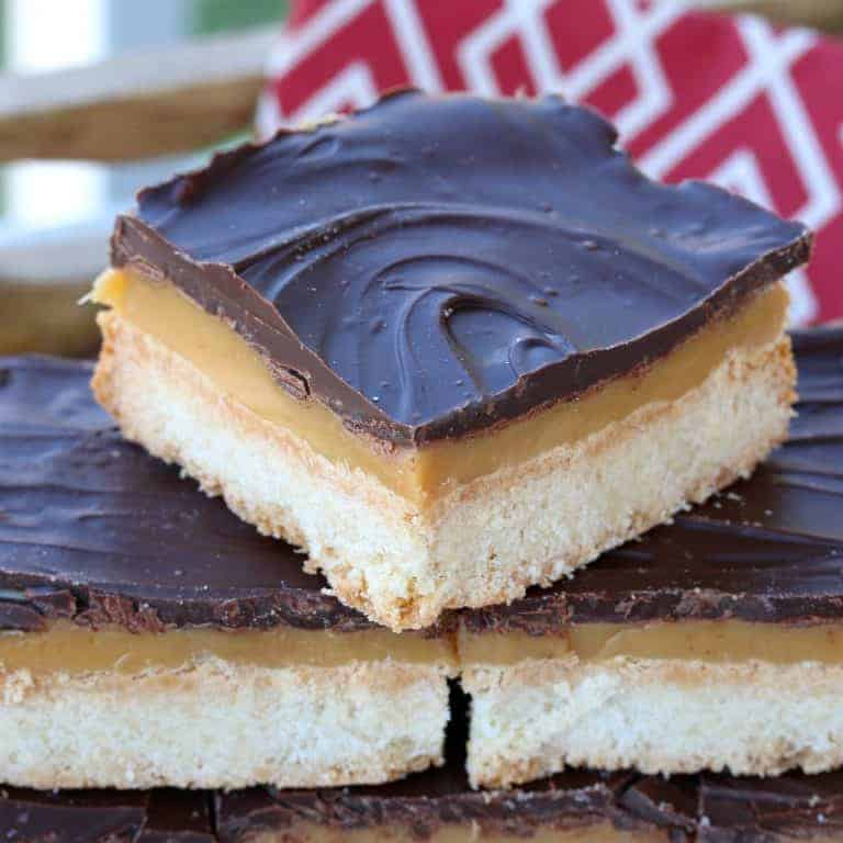 millionaire's shortbread recipe caramel chocolate scottish authentic