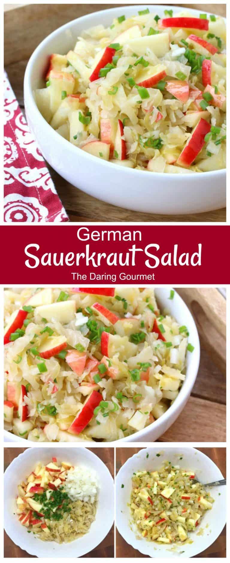 sauerkraut salad recipe german healthy apples
