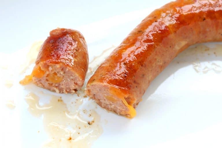 smoked cheddar sausage recipe homemade cheddarwurst copycat