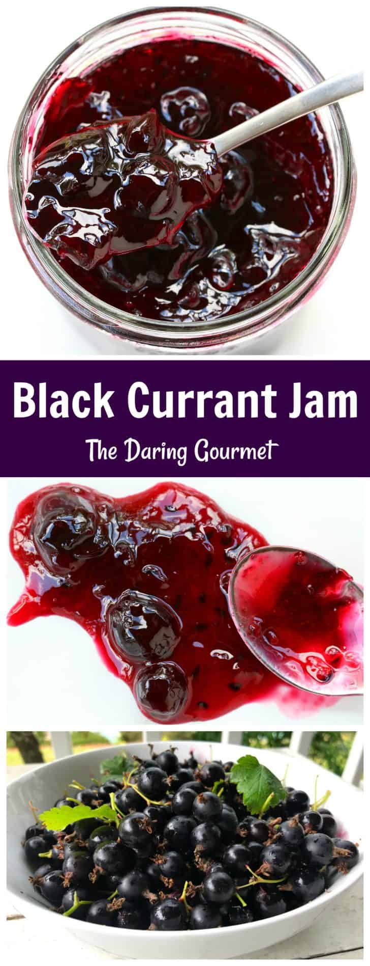black currant jam recipe homemade canning preserves