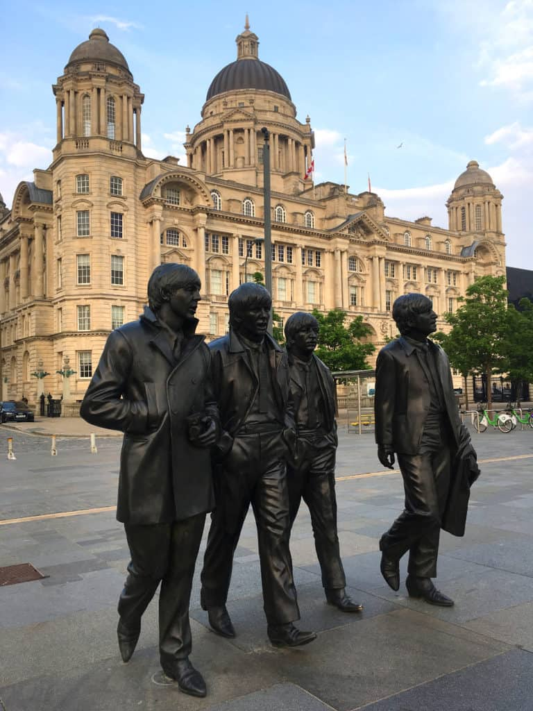 liverpool beatles statues