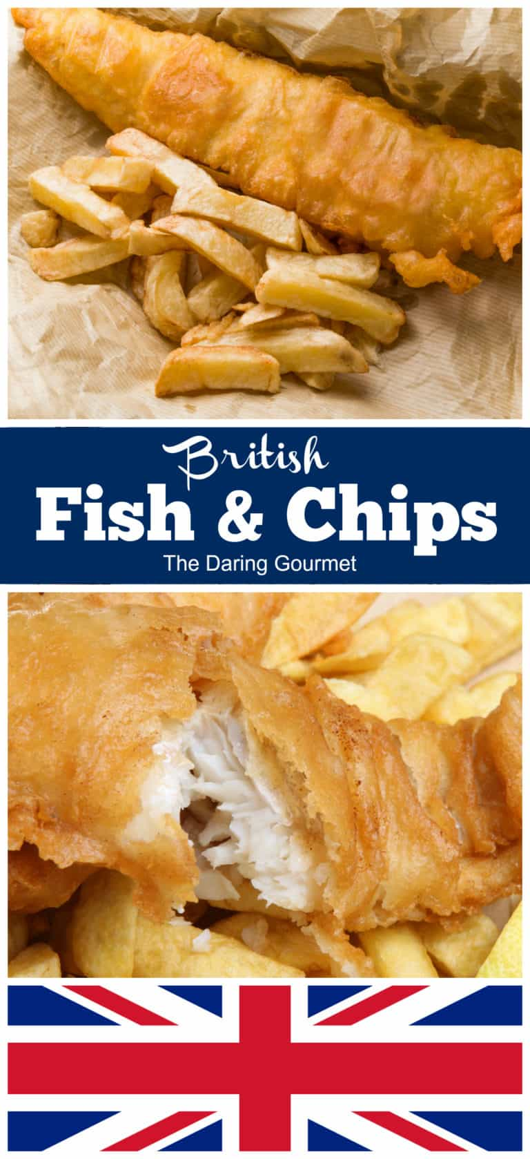 fish and chips recipe traditional british english homemade how to make