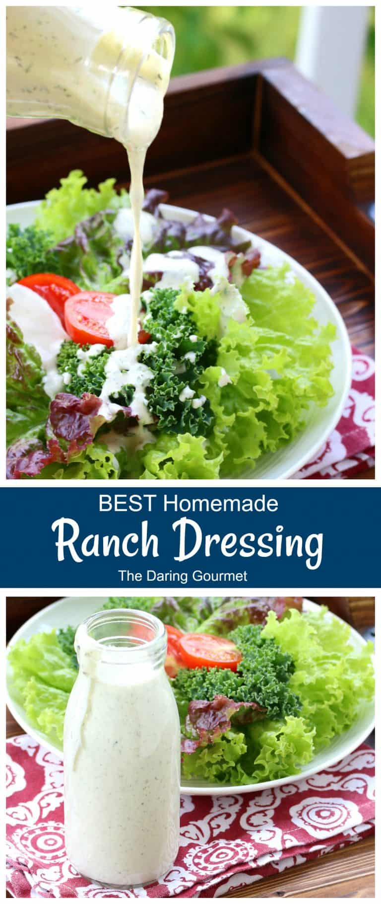 ranch dressing recipe homemade best