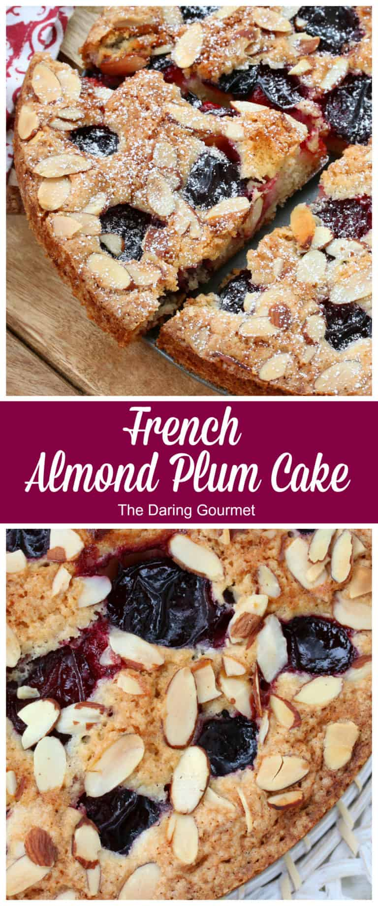 french plum cake recipe almond stone fruit apricot cherry