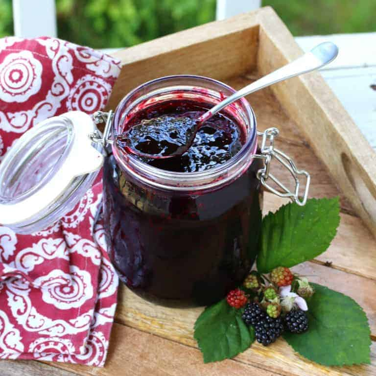 blackberry jam recipe without pectin homemade