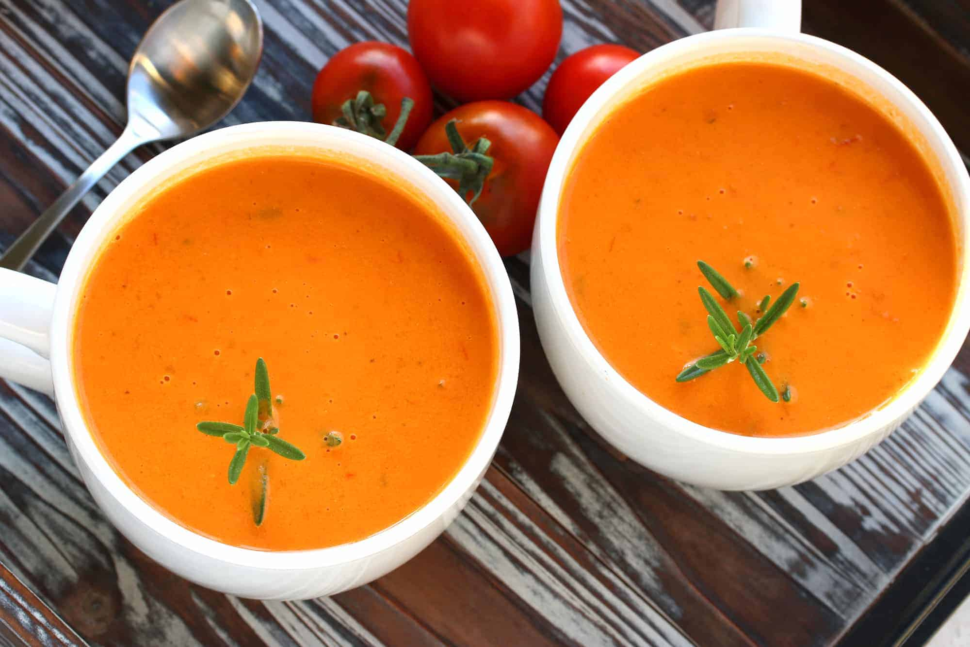 Creamy Tomato Soup The Daring Gourmet