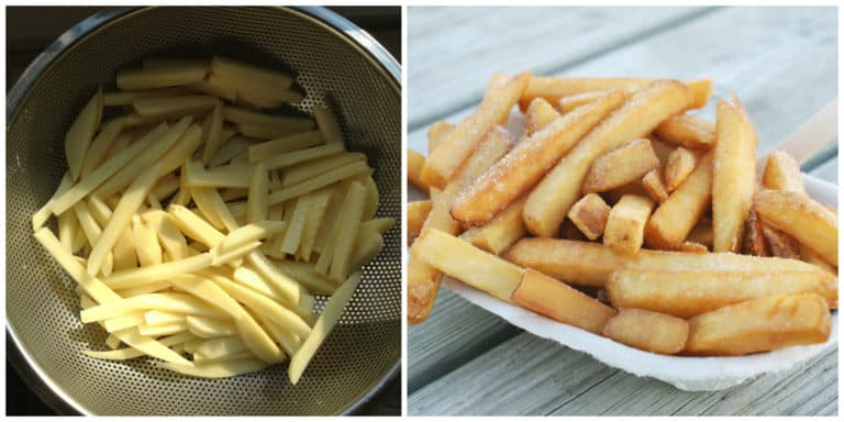 chips recipe british english fish french fries homemade how to make