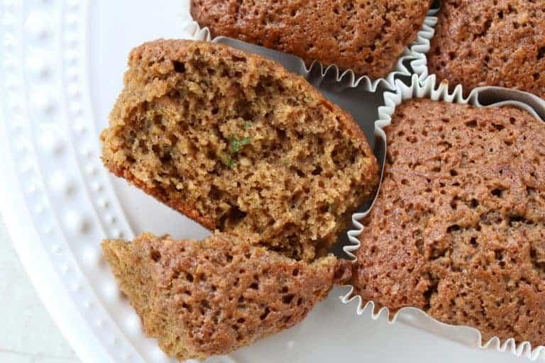 gluten free zucchini muffins bread recipe whole grain best buckwheat oat flour