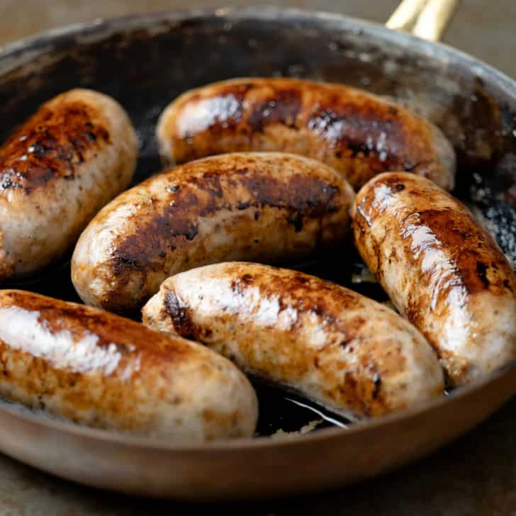 bangers recipe homemade British sausages recipe for bangers and mash