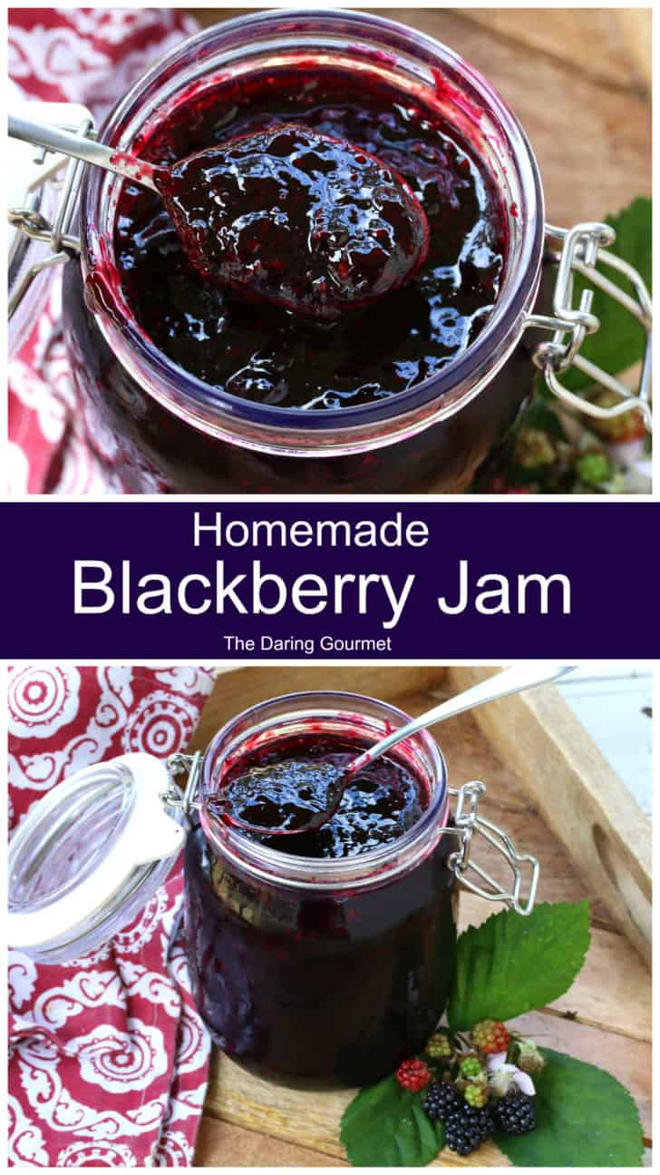 blackberry jam recipe no pectin homemade