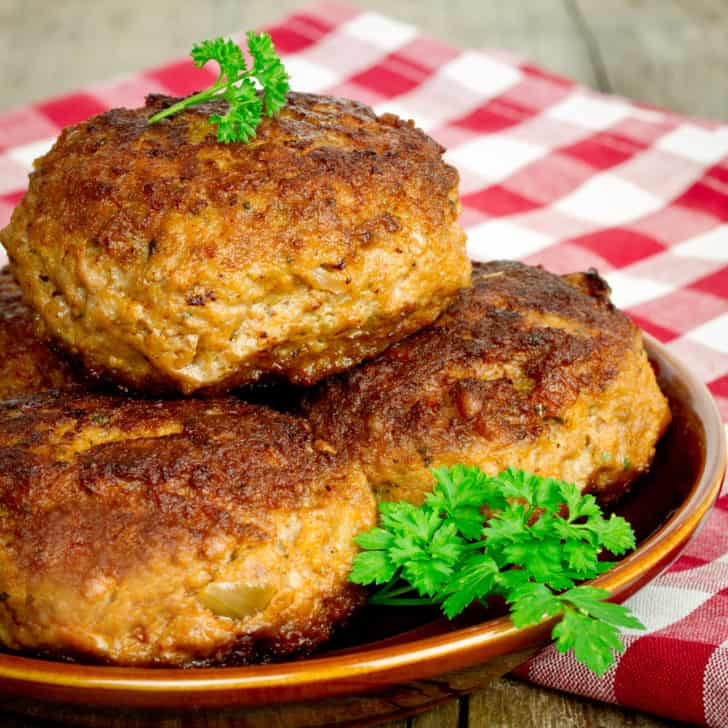 frikadeller recipe frikadellen Danish German meatballs meat patties authentic traditional