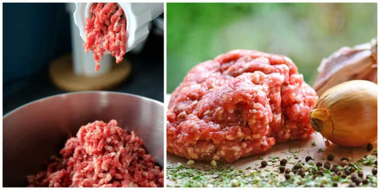 ground sausage meat