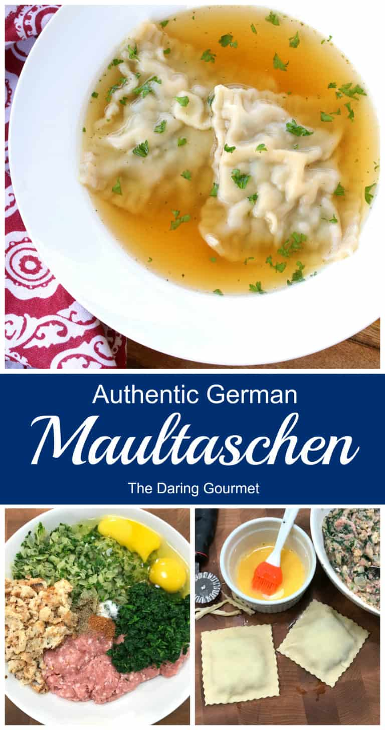 maultaschen recipe homemade German Swabian traditional authentic pasta ravioli