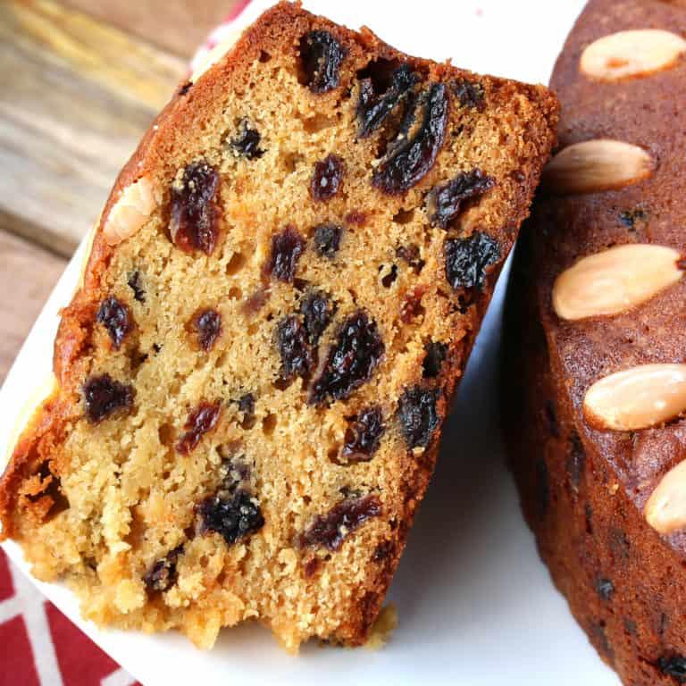 dundee cake recipe traditional authentic Scottish orange almonds raisins