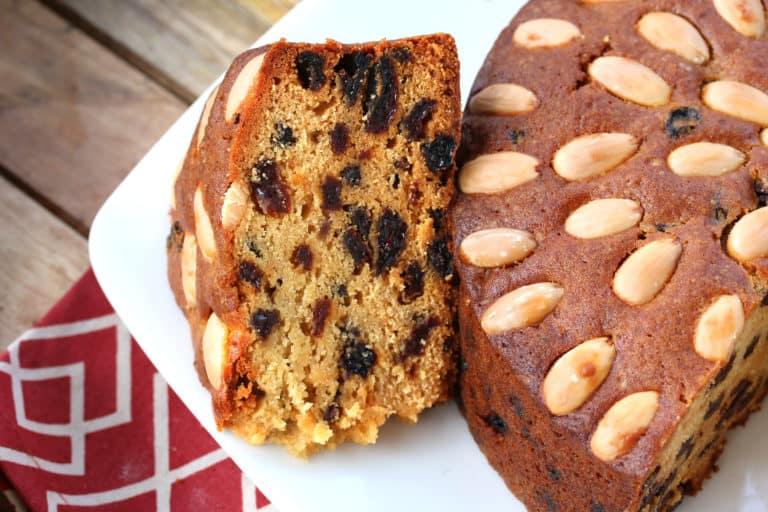 dundee cake recipe traditional authentic Scottish orange almond