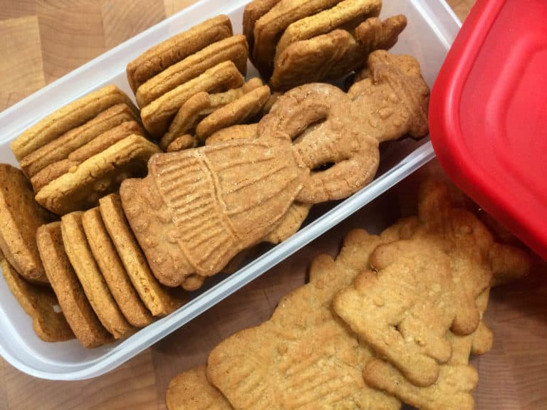 how to store speculoos cookies