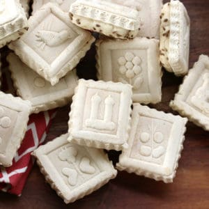 springerle recipe traditional German anise cookies authentic