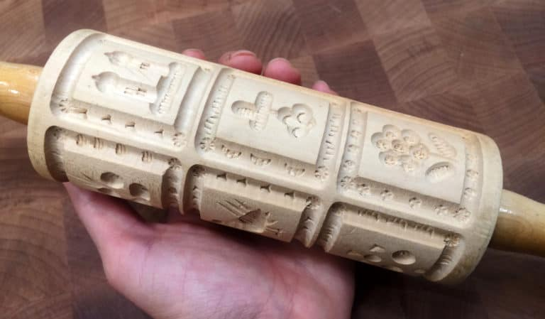 speculoos mold rolling pin
