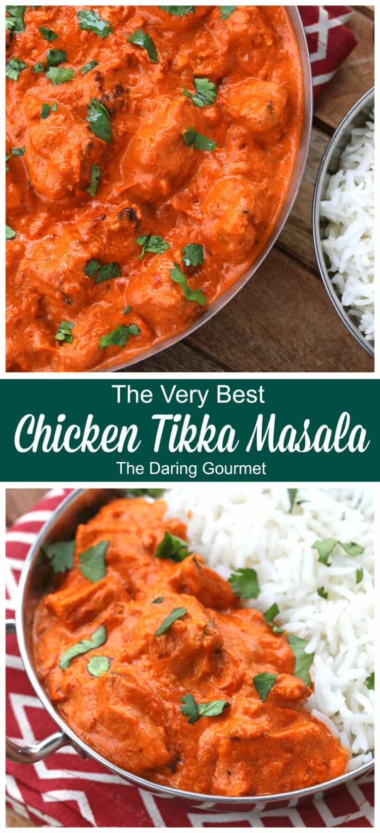 Chicken Tikka Masala The Daring Gourmet