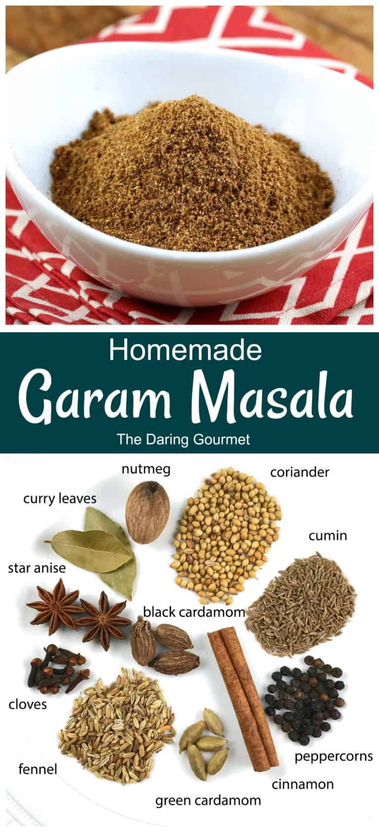 garam masala recipe homemade best Indian spice seasoning authentic