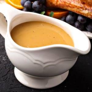 turkey gravy recipe best homemade drippings giblets