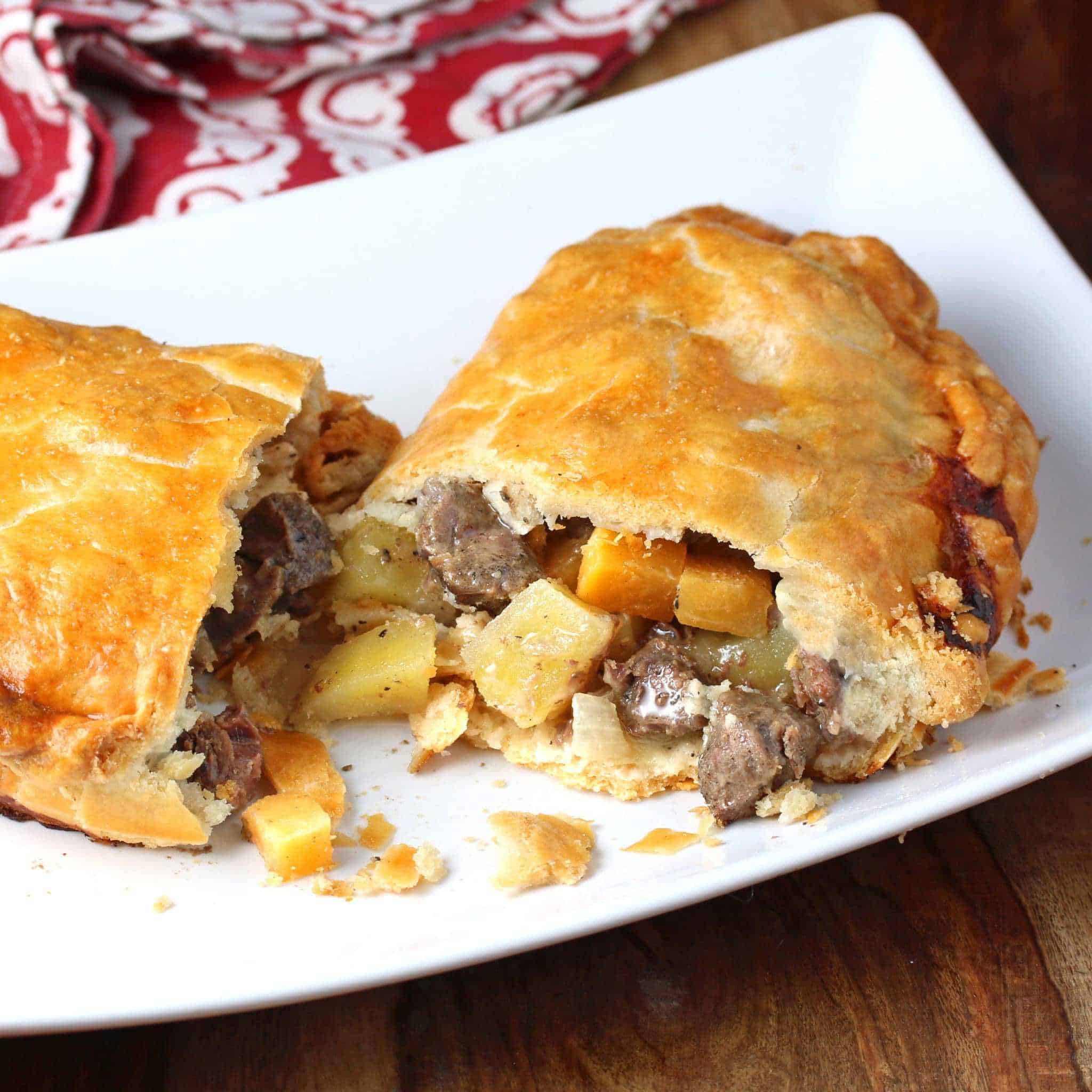 Authentic Cornish Pasty Recipe The Daring Gourmet